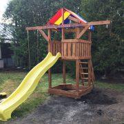 Деревянная детская площадка «Африка»