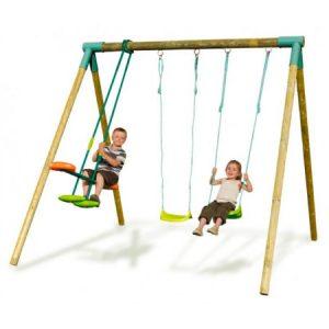 """Детские деревянные качели """"Моби"""" для большой семьи"""