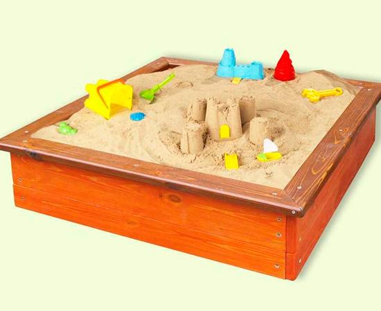 """Детская песочница для сада """"Кубик"""""""