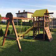 Деревянная детская площадка «Милан»