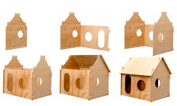Как сделать домик из фанеры пошаговая инструкция