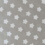 Звезды пряничные на сером
