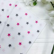 Звезды серо-розовые