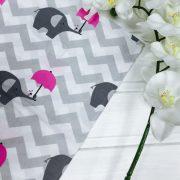Зигзаг серый Роз. зонтик