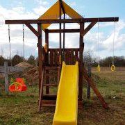 Деревянная детская площадка «Марсель»