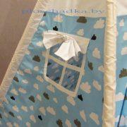 Вигвам палатка детская «Облака на голубом»