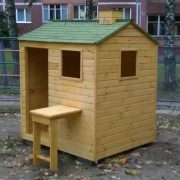 Детский деревянный домик «Фазенда плюс»