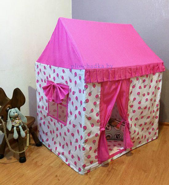 """Детский домик-палатка """"Мороженое"""""""